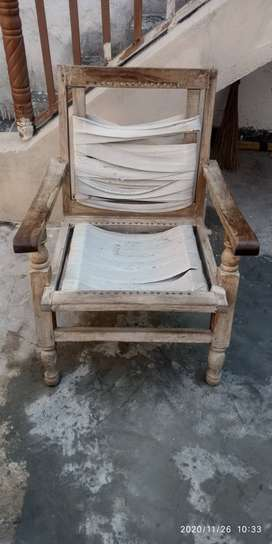 3 wooden chair frame