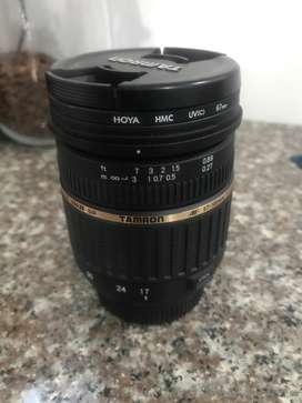 Tamron 17-50 F2.8. Nikon Mount. Good condition