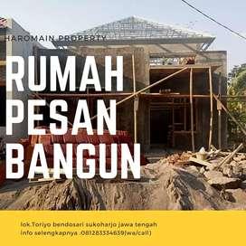 Rumah siap huni dan pesan bangun kredi t syariah