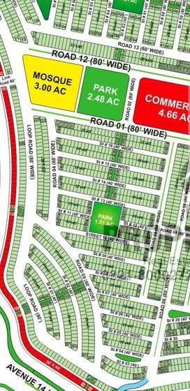 Ali Block 125 Sq. Yards Near Park For Sale In Bahria Town Karachi