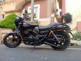 Selling A Harley Davidson Street 750