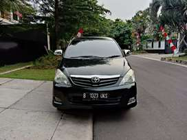 Toyota Kijang Innova G AT 2011 Bensin Hitam Istimewa Cash kredit sama