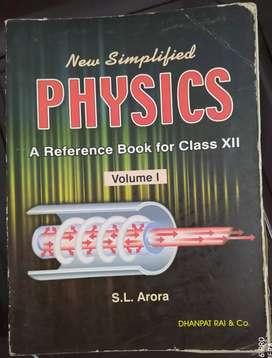 S.L. Arora class 12 physics Vol 1 & Vol 2