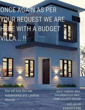 Budget villa for sale