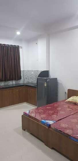 Vaishali Nagar Studio Fully Furnished Flat  For Family/Boys/Girls