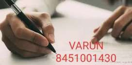 At bangalore now get good job data writing