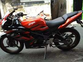 Kawasaki ninja rr new 150 th 2016/2015 jan km 2xxx istimewa
