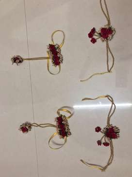 On Rent Jewellery for Haldi, Babyshower