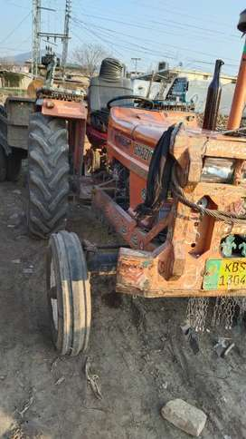 Tractor and trolley