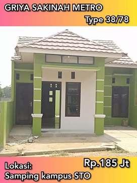 Rumah Kota metro Kredit Syariah Tanpa Bank