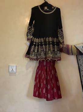 Maria B. Gharara dress for 9 years old