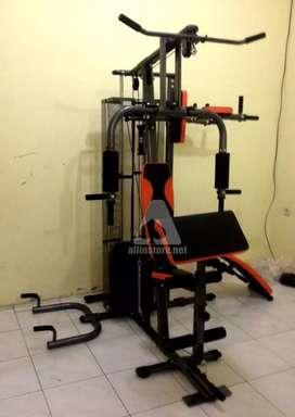 Home Gym 3 Sisi // Alfit Home Use 17W17