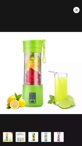 Portable USB Electric Rechargeable Fruit Juicer Smoothie Maker
