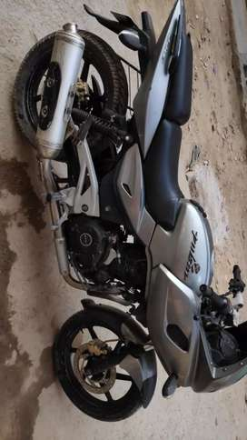 Single hand bike pulsar 220f silver colour only serious buyer contact