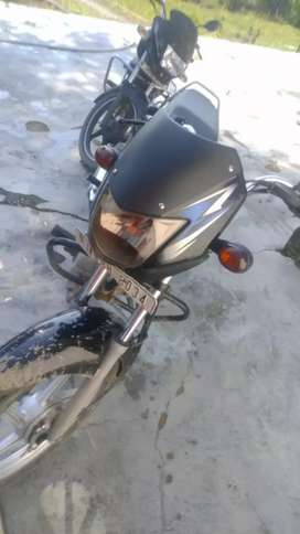 Urgent sale new bike with 5 year insurance
