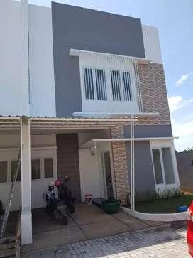 Rumah 2 lantai sekitar hertasning baru 663jt