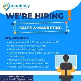 Sales & Marketing DIAcademy Asta Portal Digital Indonesia