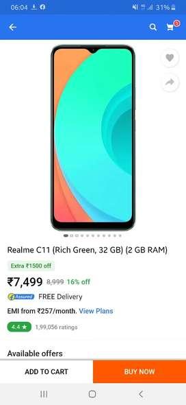 Realme C11 Rich Green 2GB/32GB