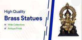 Buy Brass , Bronze , Panchaloha statues online - vgocart(.)com