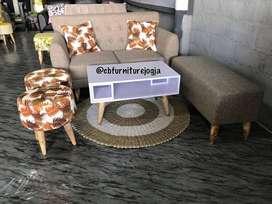 Sofaa  Retroo 2 seater Minimaliss , Harga  Ekonomiis , ,