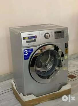 Samsung Fully-automatic Front-loading Washing Machine (6Kg, Silver)