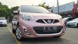 Nissan March 1.5 AT 2015 Pink Km40rbuan mulus