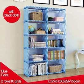 Book Shelf Rack imported quality in beautiful colours