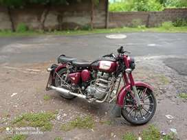 Royal enfield 350 with mackwills