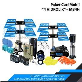 Paket Usaha Hidrolik Cuci Mobil MB3H Type Ratio H/Kupu Kupu Kap. 4ton