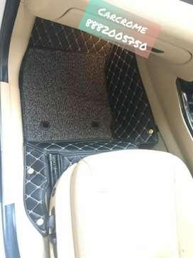 Amaze jazz civic brv 7d mat with grass car 7d mats