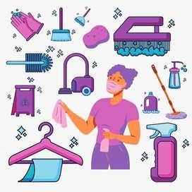 Cleaning Service (Jasa Pembersih Rumah)   Leassy