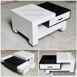 Exclusive designed 3/2 or 4/2 feet center tables cum coffee tables