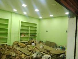 Shop for rent first floor.