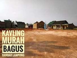 Tanah kavling murah siap bangun Rajabasa Bandar Lampung