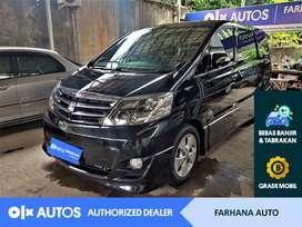 [OLXAutos] Toyota Alphard 2007 2.4 G Bensin A/T Hitam #Farhana Auto
