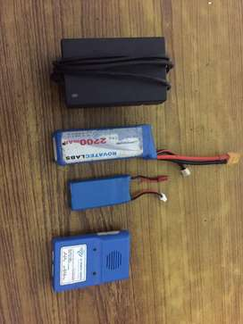 Lithium battary 2200mah and other battary 1200 mah