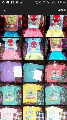 Garments baby boys and girls
