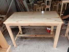 meja papan jati belanda