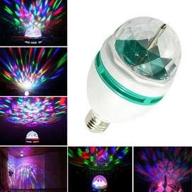 Lampu Disco Putar Full Colour Rotating Lampu Pesta Disco Warna Warni