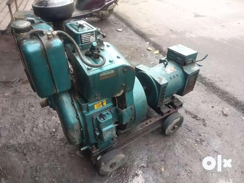 Kirloskar generator 5kva new construction 0