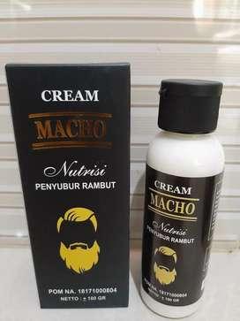 Cream MACHO (Nutrisi Penyubur Rambut )