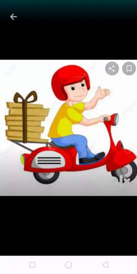 bikers delivery boy  job fux salary goa locastion
