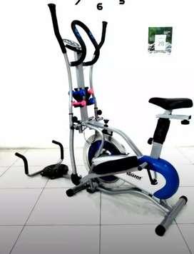 Gudang peralatan olahraga /Jual sepeda statis lima fungsi