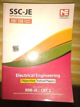 Electrical engineering madeeasy SSC je & IES books