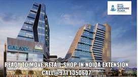 ready to move retail shop availble in noida extention