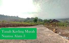 Tanah Kavling Murah Nuansa Alam 3 View Gunung