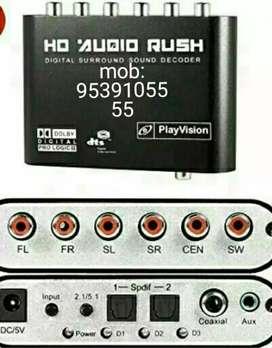 5.1 Dolby surround sound