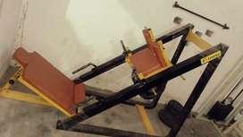 Leg press machin