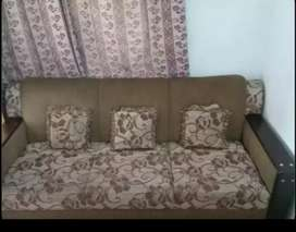 Wooden sofa in good condition
