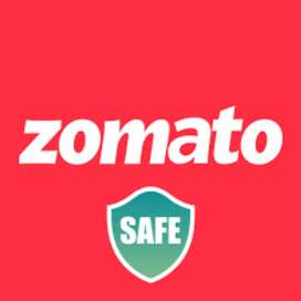 Joining office Zometo food delivery job immediately joining